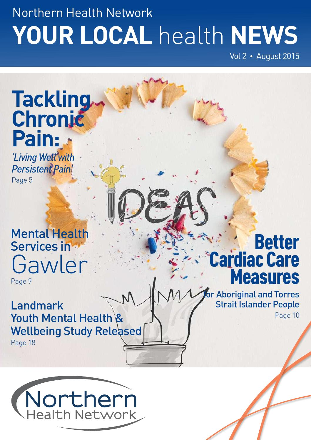 NHN Your Local Health News Vol 2 August 2015 by Sonder - issuu