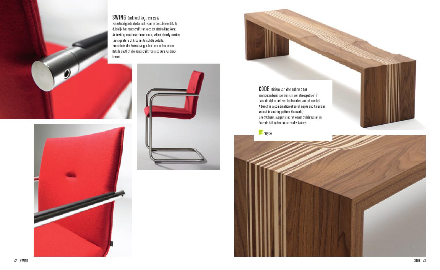 Houten Design Bank.Arco Home Catalog By Archemon Issuu