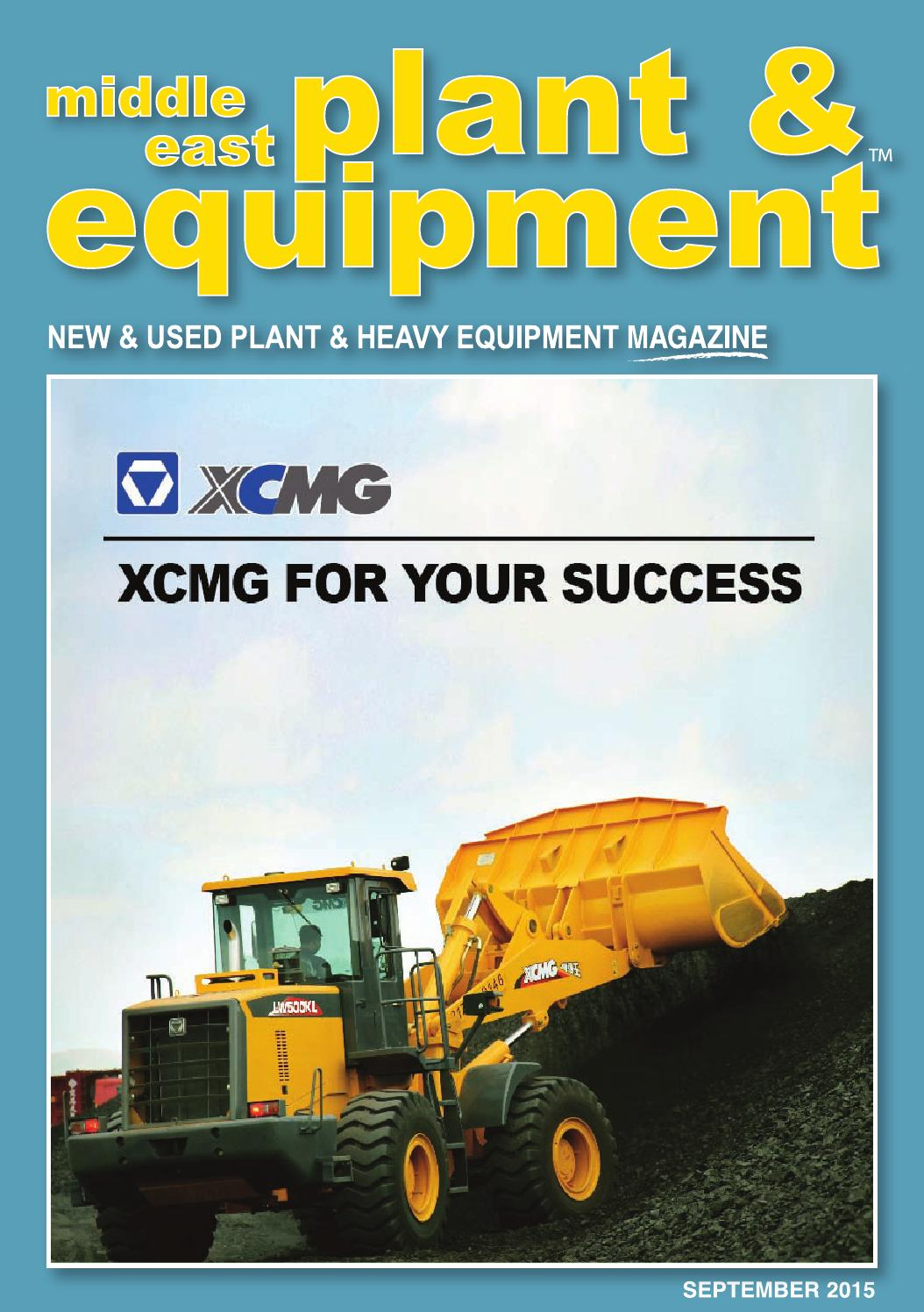 Makemodel SEOLHWA  Middle East Plant & Equipment - September 2015 Edition by Middle East Plant  & Equipment - issuu