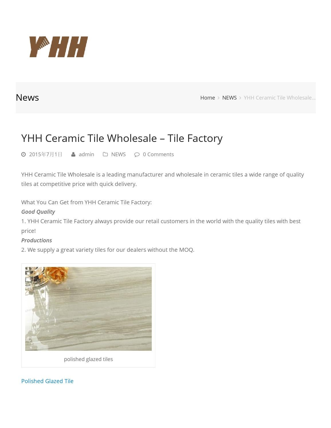 Yhh ceramic tile wholesale tile factory by henrylee issuu doublecrazyfo Image collections