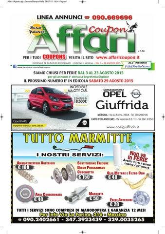 2015 Messina Giornale Affari 01 By Editoria Falco Issuu Agosto c3A54LqRj