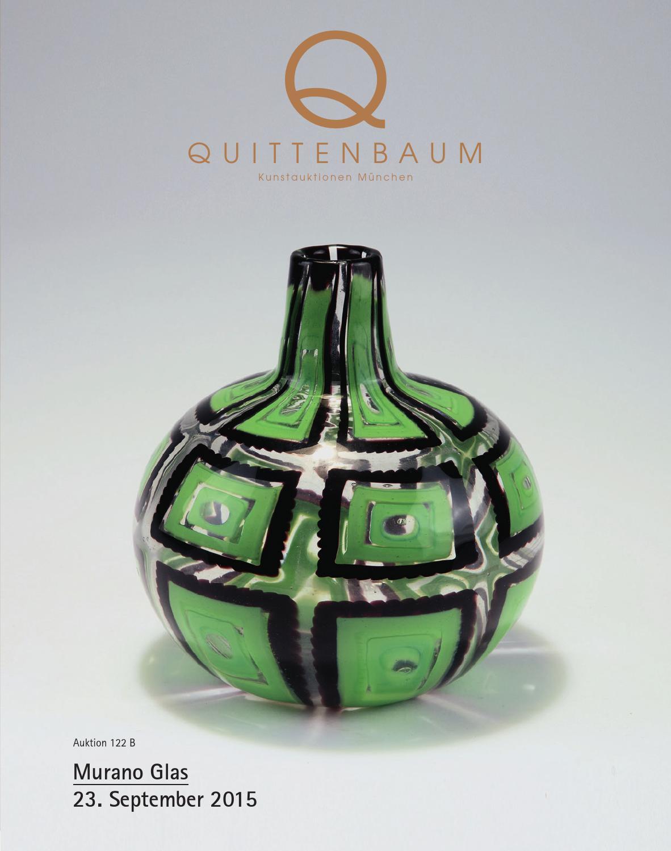 auction 122b murano glass quittenbaum art auctions by quittenbaum kunstauktionen gmbh issuu. Black Bedroom Furniture Sets. Home Design Ideas