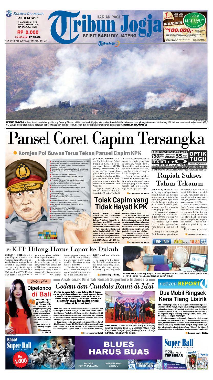 Tribunjogja 29 08 2015 By Tribun Jogja Issuu Produk Bumn Biovision Dus Isi 30 Kapsul