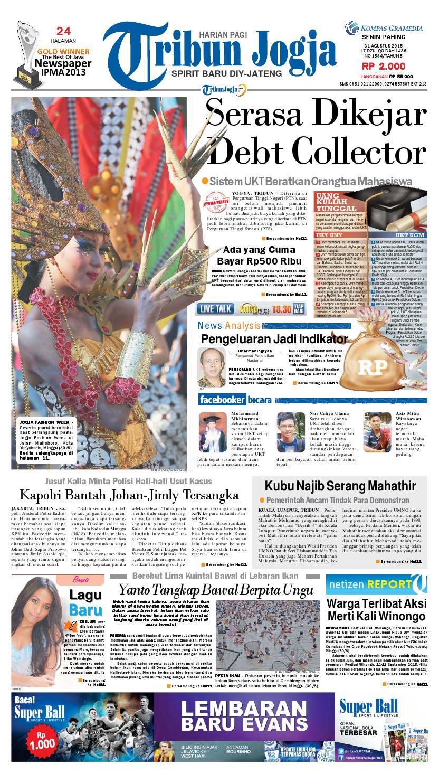 Tribunjogja 31 08 2015 By Tribun Jogja Issuu Produk Ukm Bumn Wisata Mewah Bali 3hr 2mlm