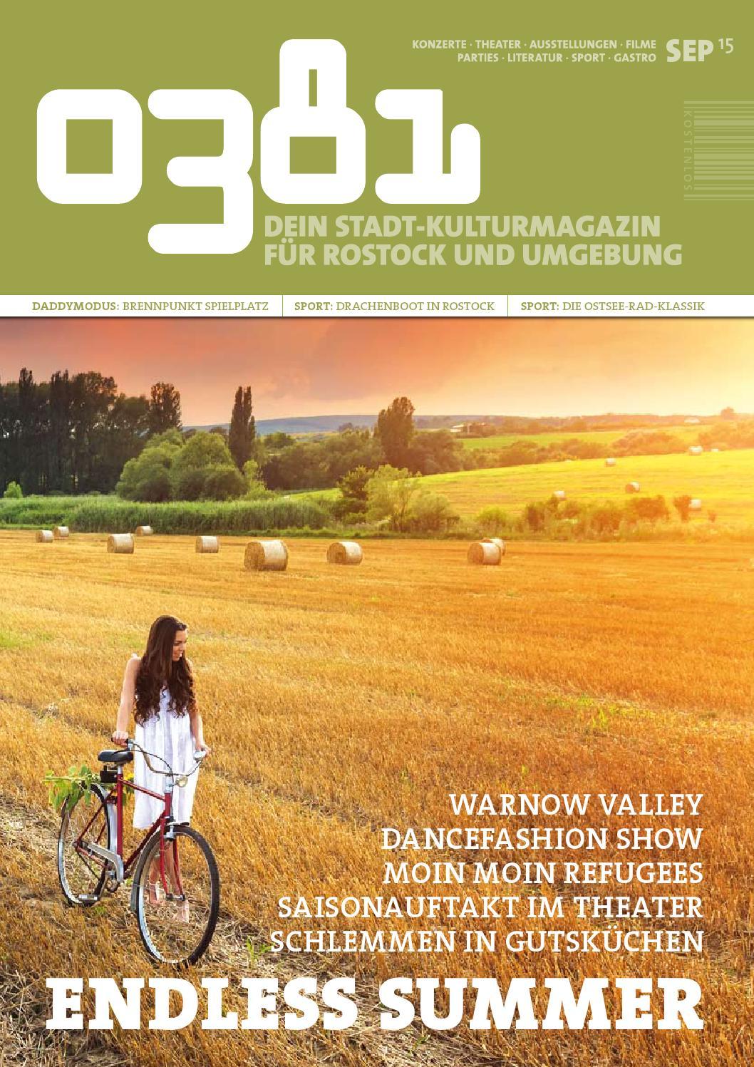 0381 – Dein StadtKulturMagazin für Rostock und Umgebung September ...