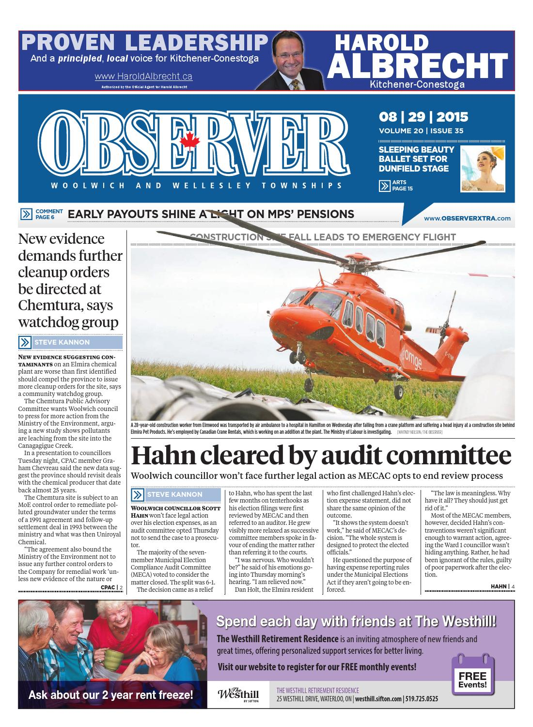 August 29, 2015 by Woolwich Observer - issuu