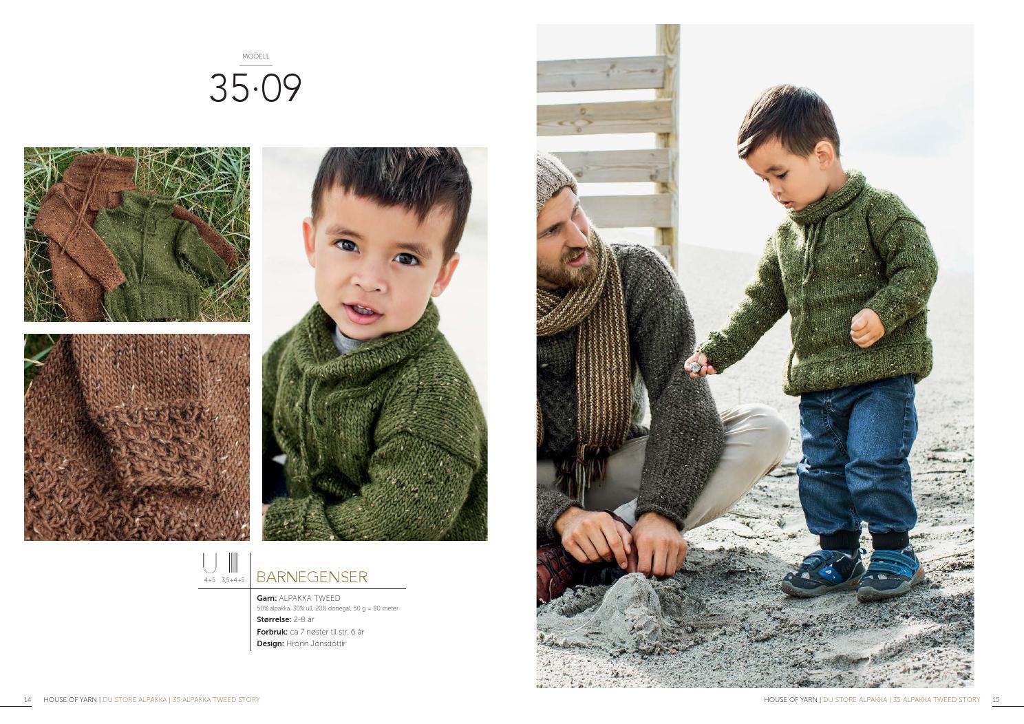 54ed4e7b Dsa 35 alpakka tweed story lookbook by Du Store Alpakka AS - issuu