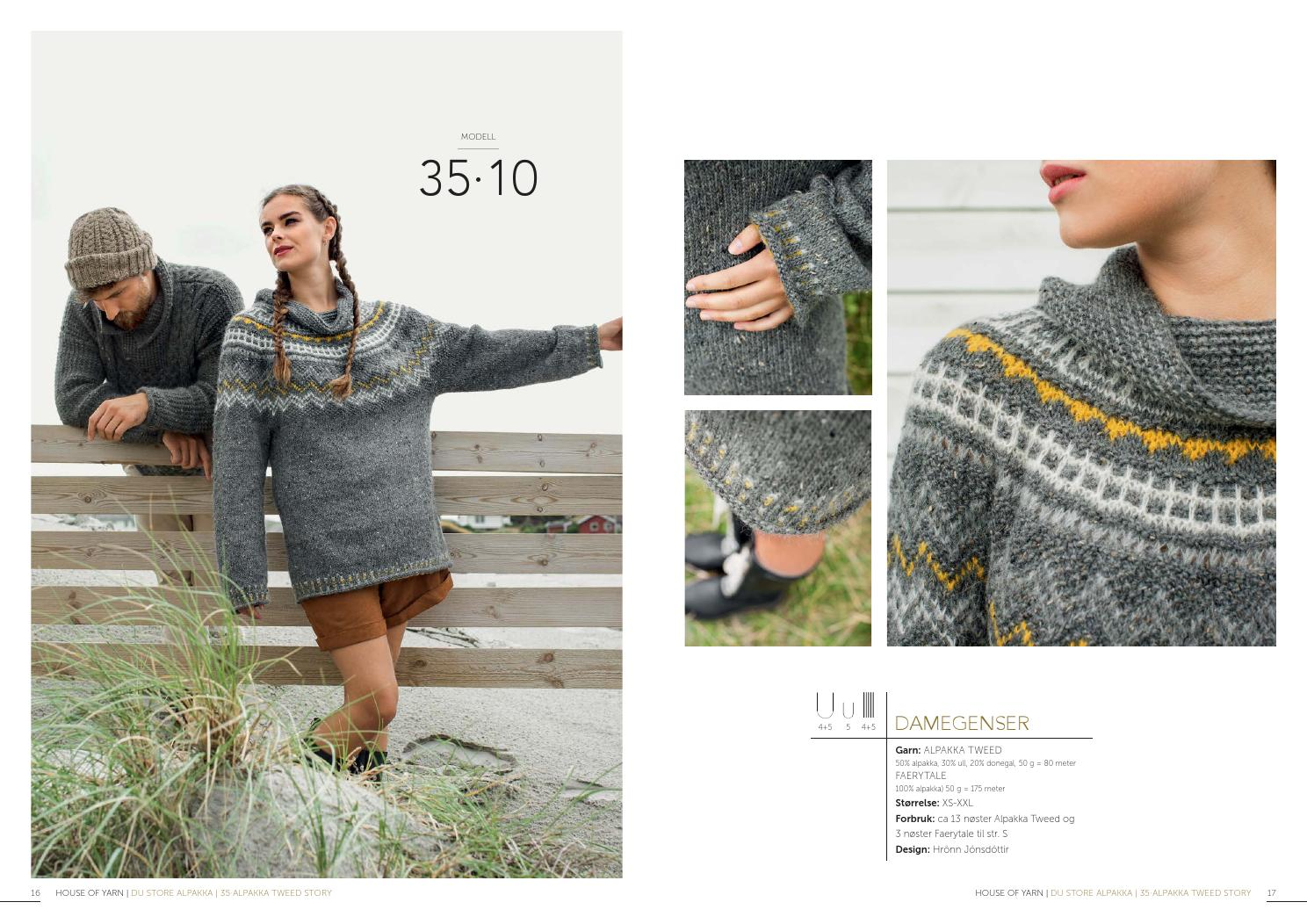 8b8c3bfb Dsa 35 alpakka tweed story lookbook by Du Store Alpakka AS - issuu