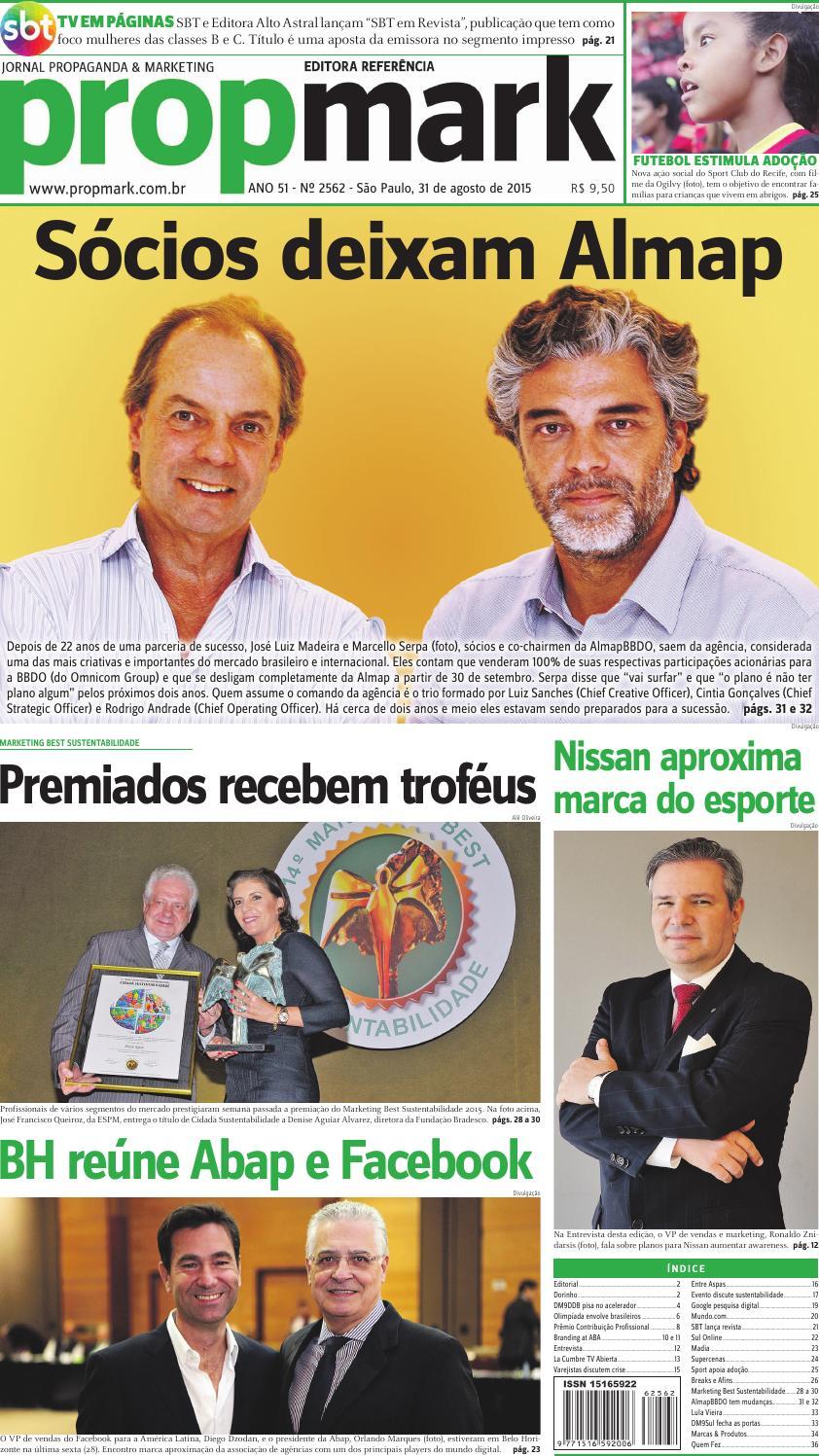 2156f8707 Segunda, 31 de Agosto de 2015 by propmark - issuu