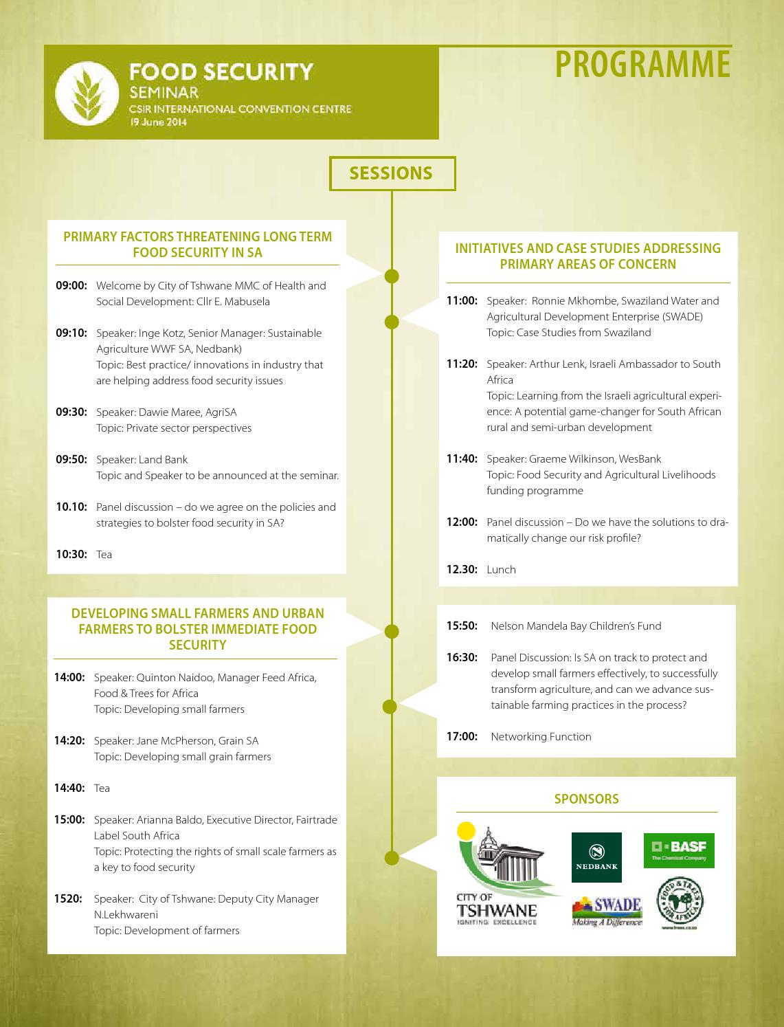 Sustainability Week programme 2015 by Alive2Green - issuu