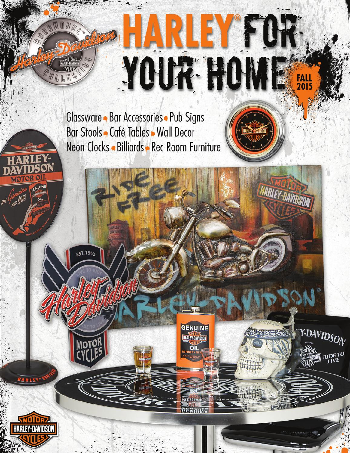 Harley Davidson Roadhouse Collection Fall 2015 Catalog By Ace Product Management Group Inc Issuu