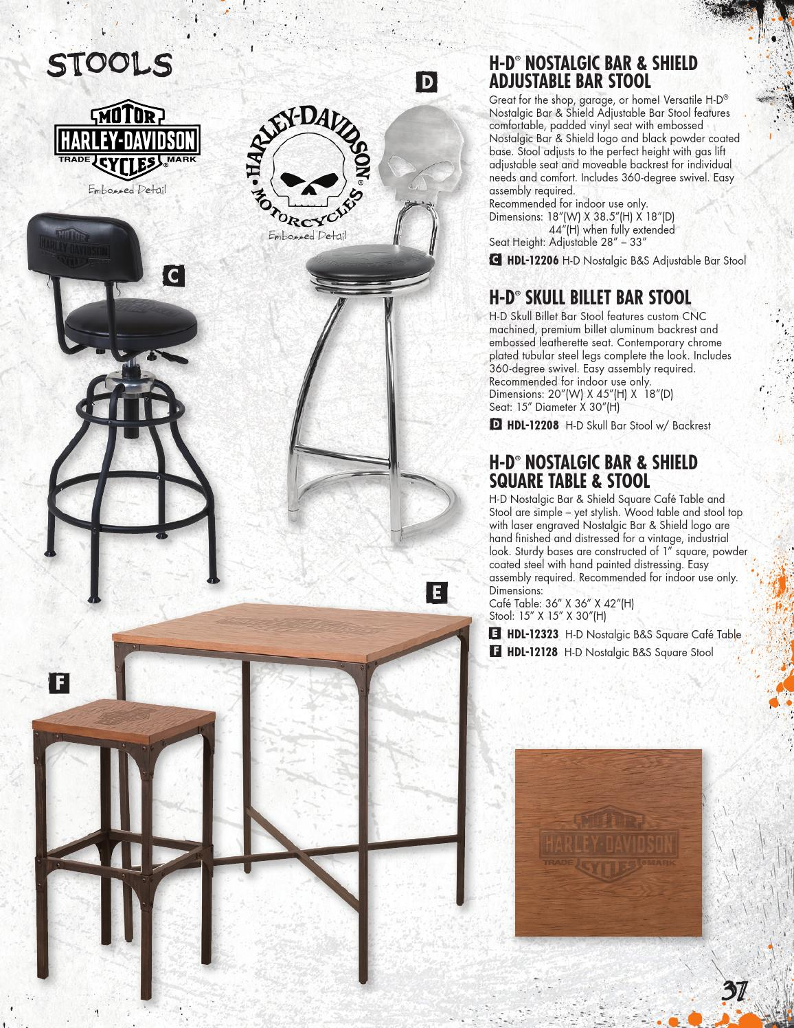 Astounding Harley Davidson Roadhouse Collection Fall 2015 Catalog By Caraccident5 Cool Chair Designs And Ideas Caraccident5Info