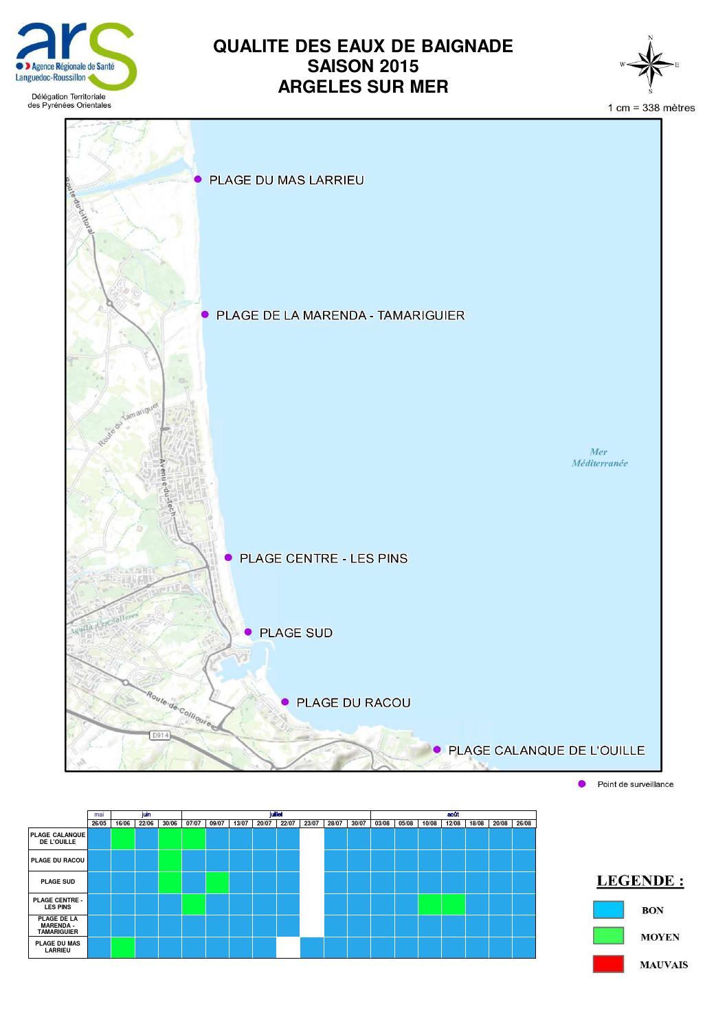 Carte argeles sur mer 26 08 2015 by Argelès-sur-Mer - Issuu