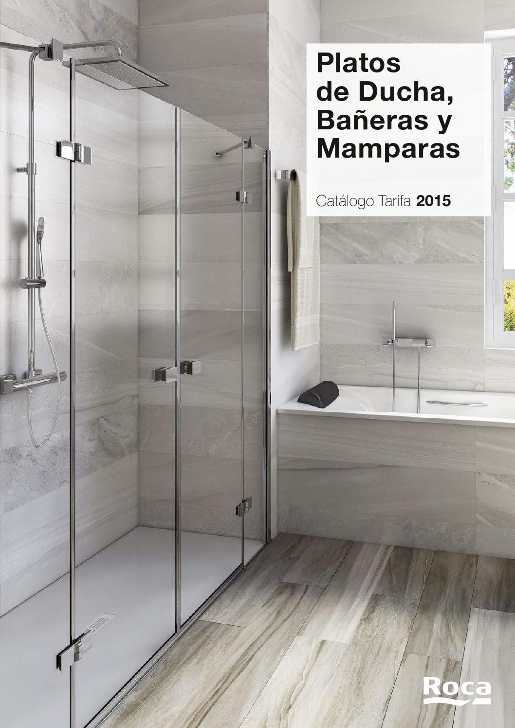 platos de ducha ba eras y mamparas cat logo tarifa 2015