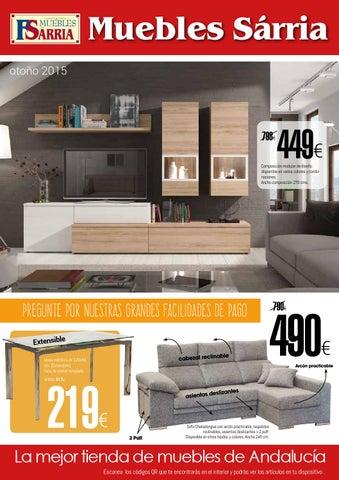 Muebles sarria especial muebles oto o 2015 by - Muebles sarria ...