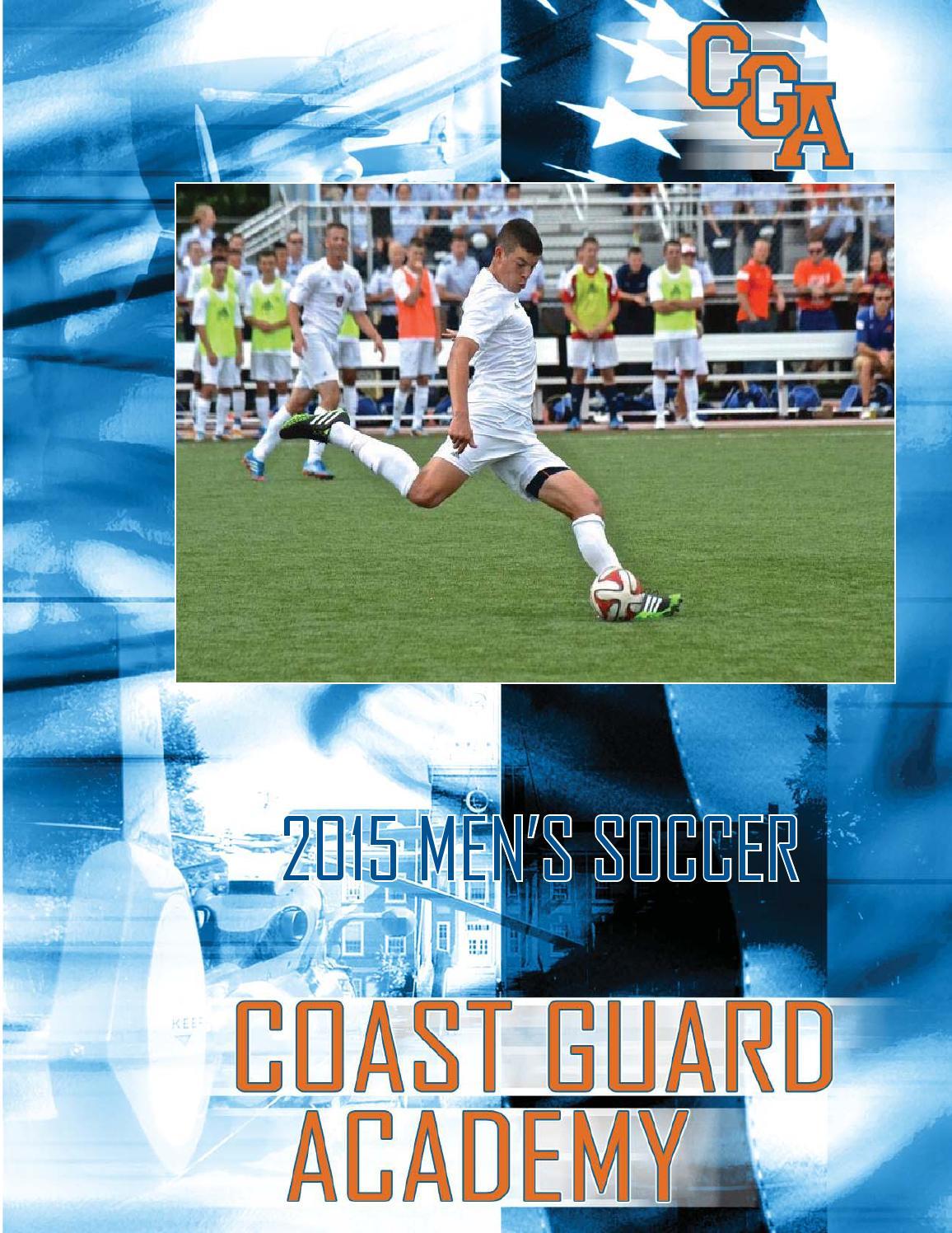 2015 Coast Guard Men's Soccer Guide by Coast Guard Bears ...