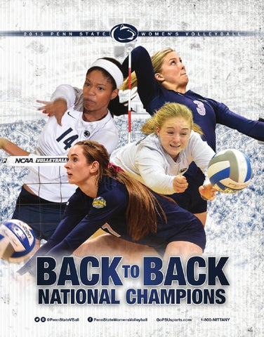 7a6dd5da2741c 2015 Penn State Women s Volleyball Media Guide by Penn State ...