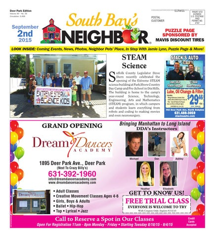 September 2 2015 Deer Park By South Bay S Neighbor Newspapers Issuu