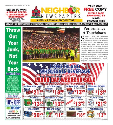 September 2 2015 Suffolk Zone 1 By South Bay S Neighbor Newspapers