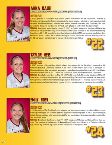 2015 Umd Soccer Media Guide By Umd Bulldogs Issuu