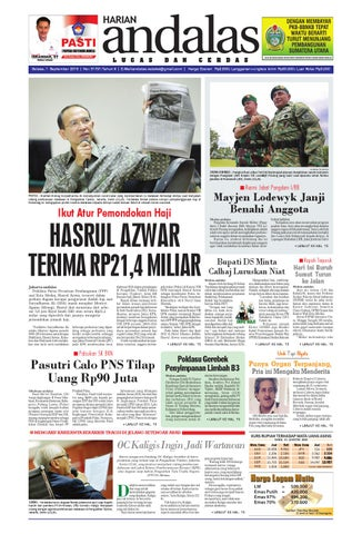 Epaper andalas edisi selasa 1 september 2015 by media andalas - issuu e27fe1f90e
