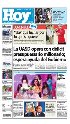 Periódico martes 01 de septiembre, 2015 by Periodico Hoy - issuu