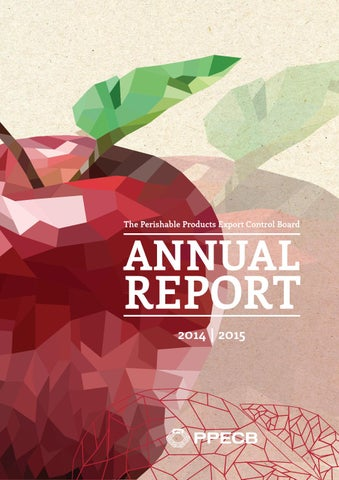 PPECB Annual Report 2014/2015