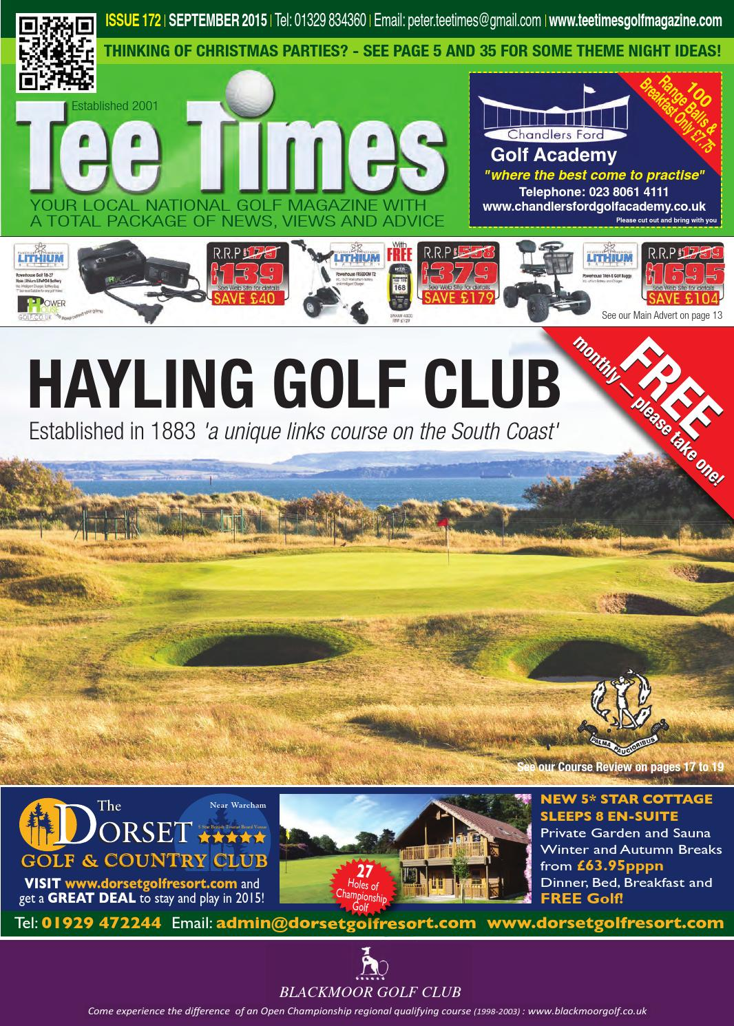 Tee Times Golf Magazine September 2015 By Tee Times Golf Magazines Issuu