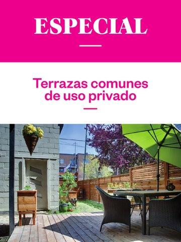Terrazas Comunes De Uso Privativo By Administradores De