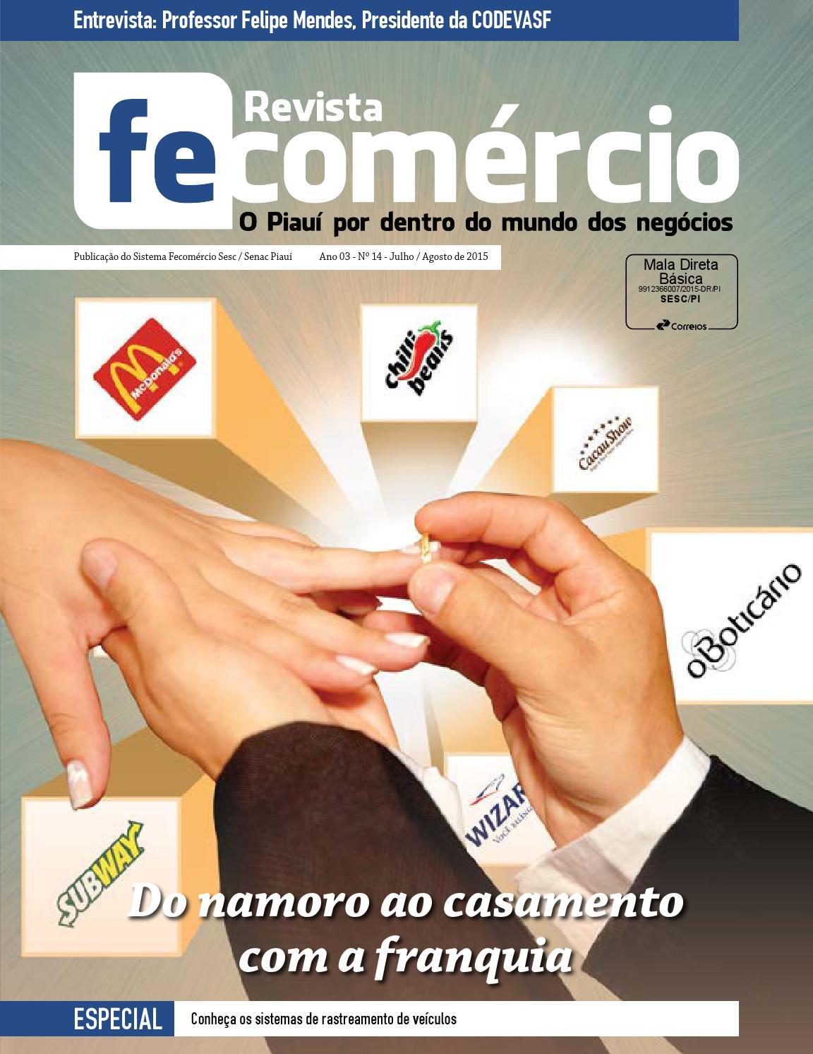 ba31253b7 Revista Fecomércio PI 14 Julho/Agosto 2015 by Revista Fecomércio Piauí -  issuu