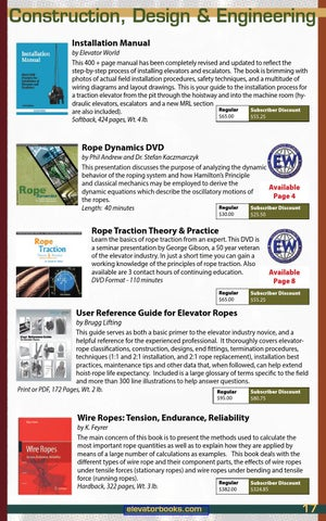 Fall Winter 2015 16 Educational Materials By Elevator World Issuu
