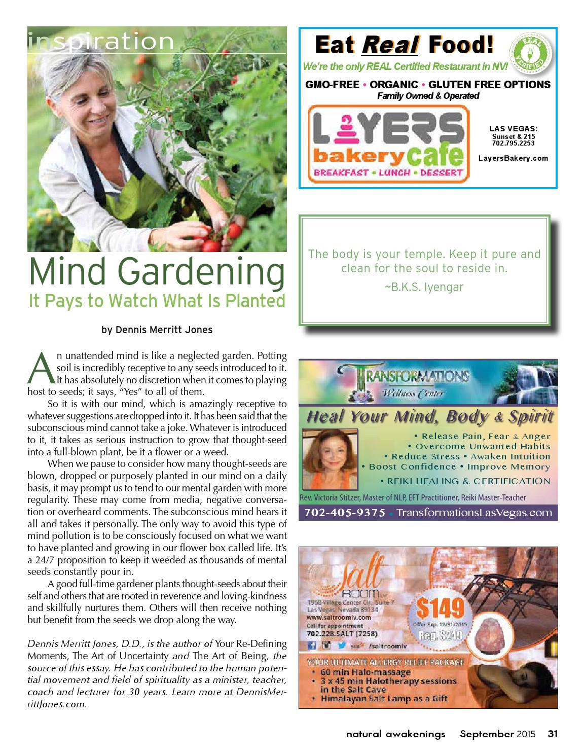 Natural Awakenings Free Magazine