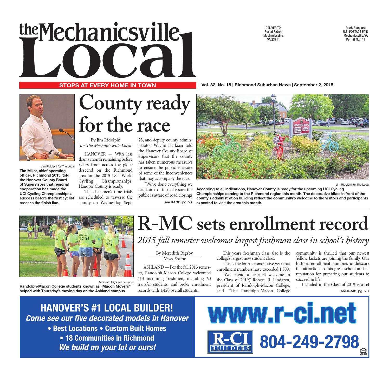 0514d35cb 09 02 2015 by The Mechanicsville Local - issuu