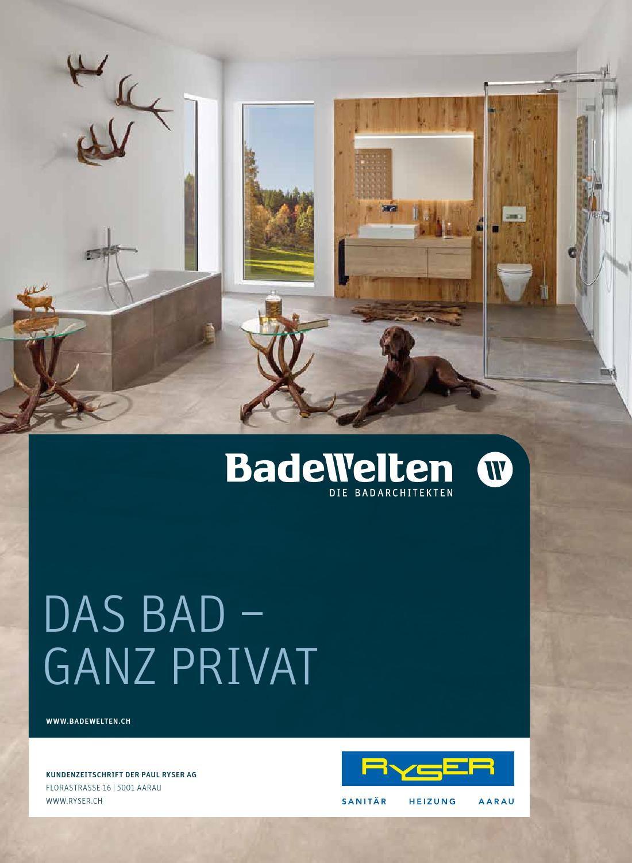 BadeWelten Magazin Herbst 2015 by Paul Ryser AG - issuu