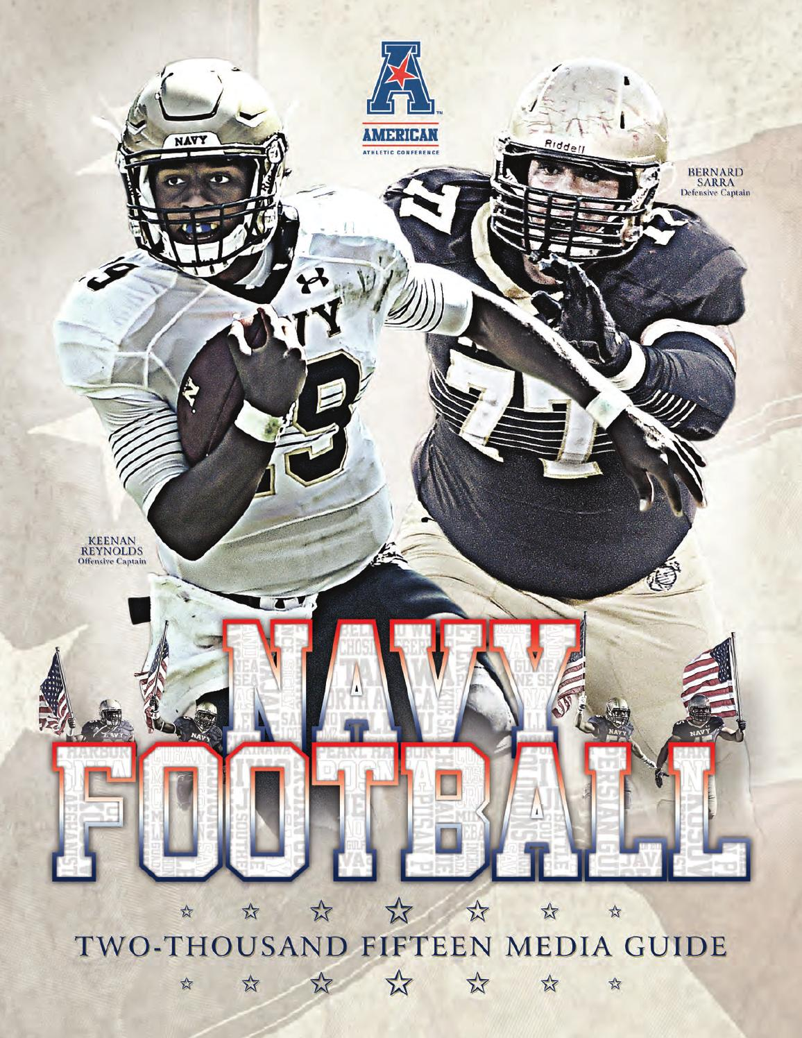 2015 Football Guide by Naval Academy Athletic Association - issuu 1aa34bd62