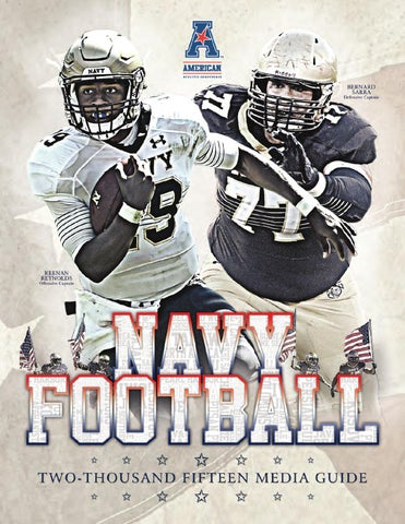 8587090ef 2015 Football Guide by Naval Academy Athletic Association - issuu