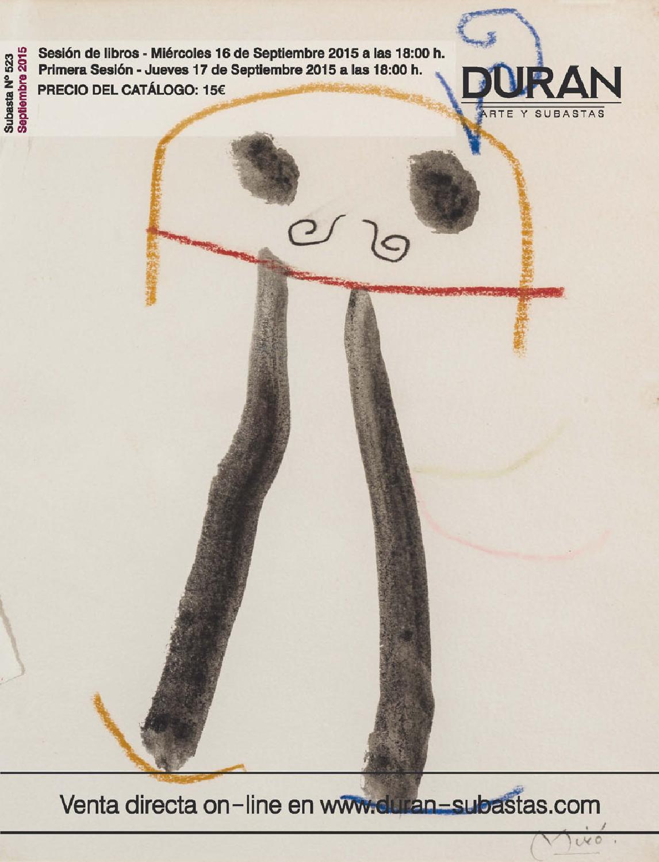 128952e656fb DURAN SUBASTAS SEPTIEMBRE 2015 ARTE by Consuelo Duran - issuu