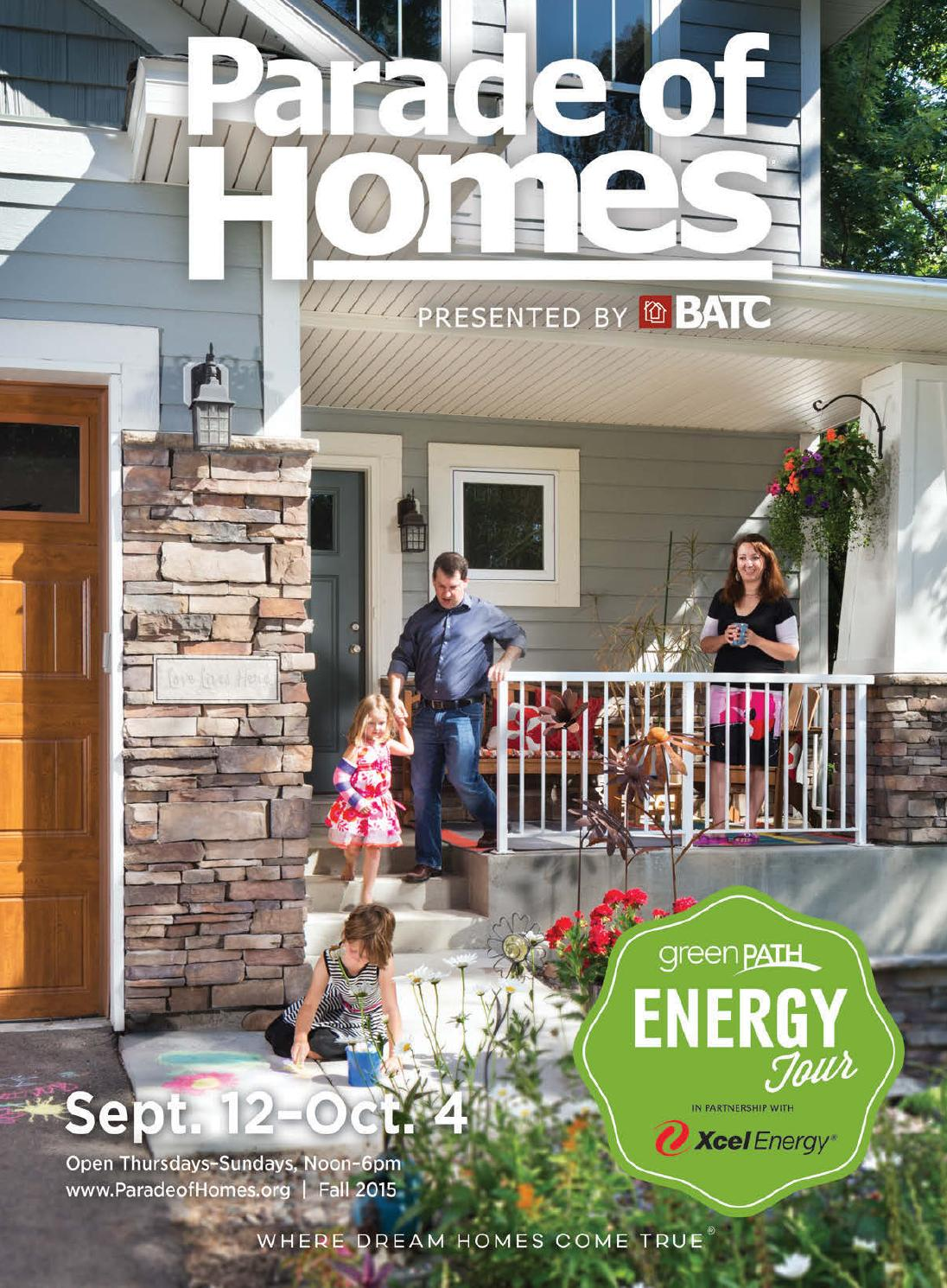 Parade Of Homes Fall Showcase Guidebook