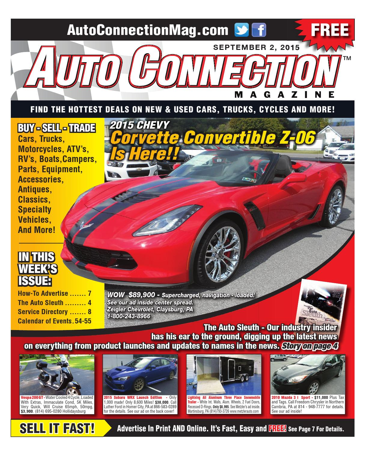 09-02-15 Auto Connection Magazine by Auto Connection