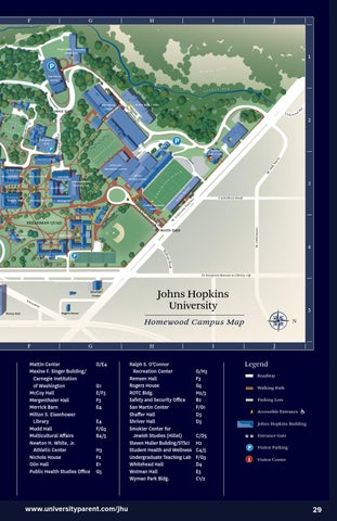 Johns Hopkins University 2015 2016 Guide For Parents By