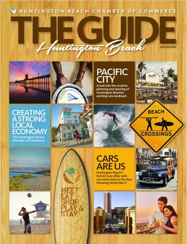 Huntington Beach The Guide 2016 By Chamber Marketing
