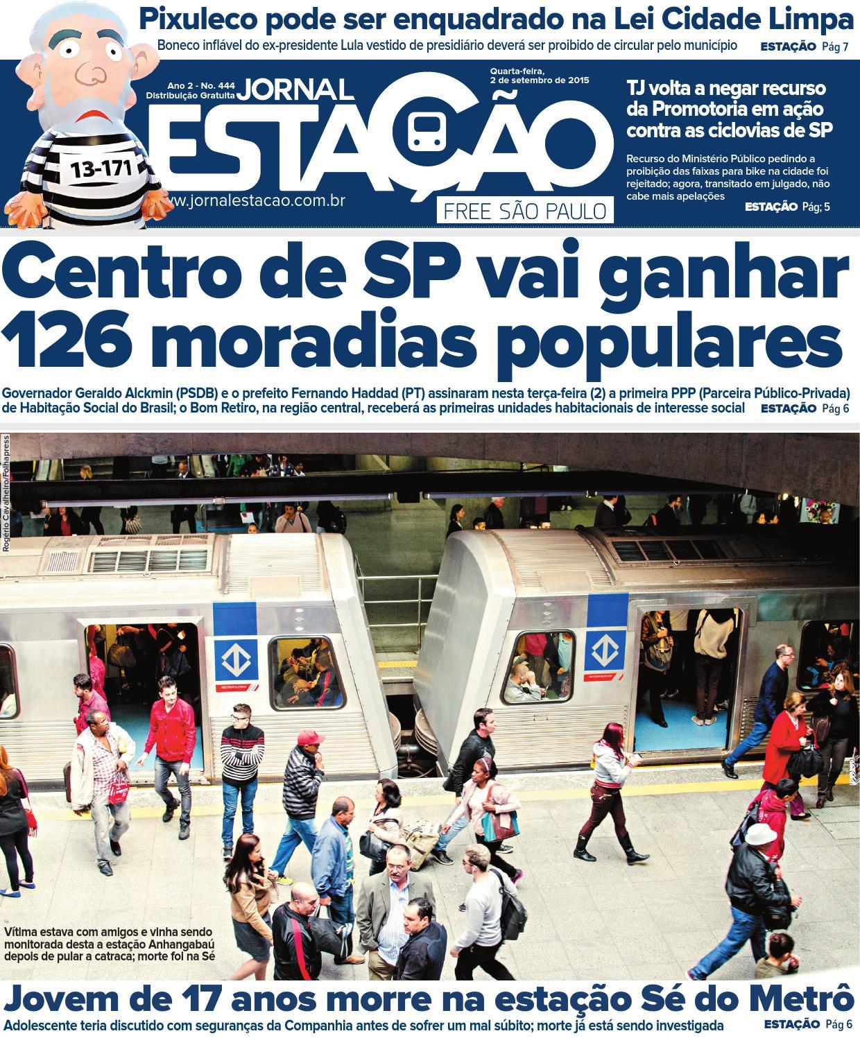 5fa2f2518 Estação 444 by Jornal Estação - issuu