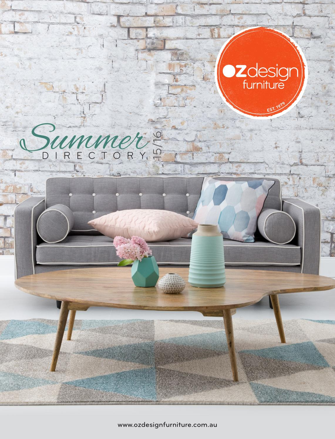 OZ Design Furniture Summer 15/16 Directory By Oz Design Furniture   Issuu