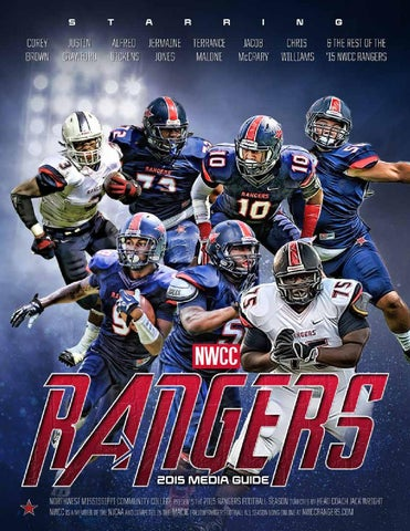 2015 Northwest Football Media Guide by Northwest Mississippi CC issuu  hot sale