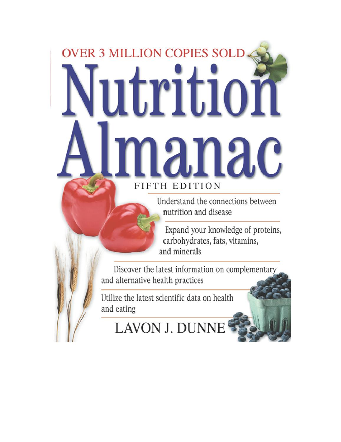 Nutrition almanac 5th edition by Elizabeth del rosario - issuu