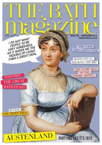 The Bath Magazine September 2015 By Mc Publishing Limited Issuu