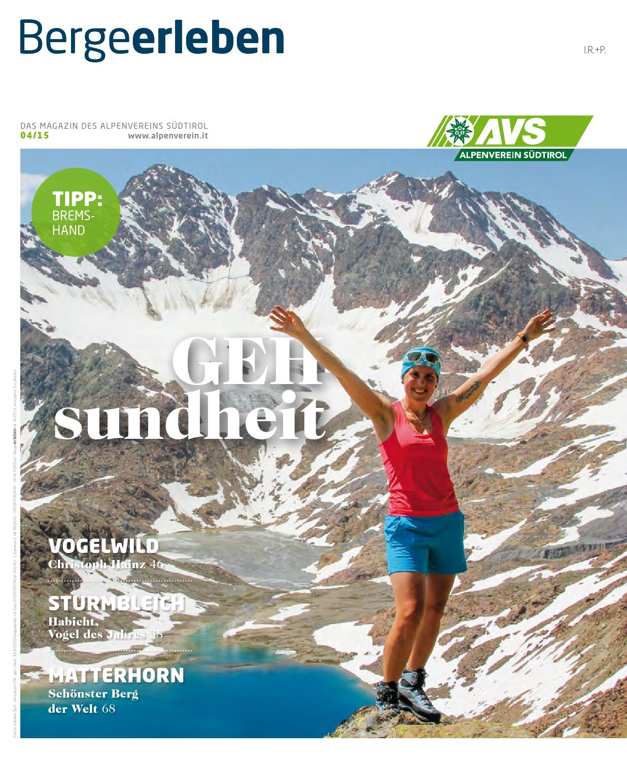 Bergeerleben AVS Magazin September 2015 by Alpenverein