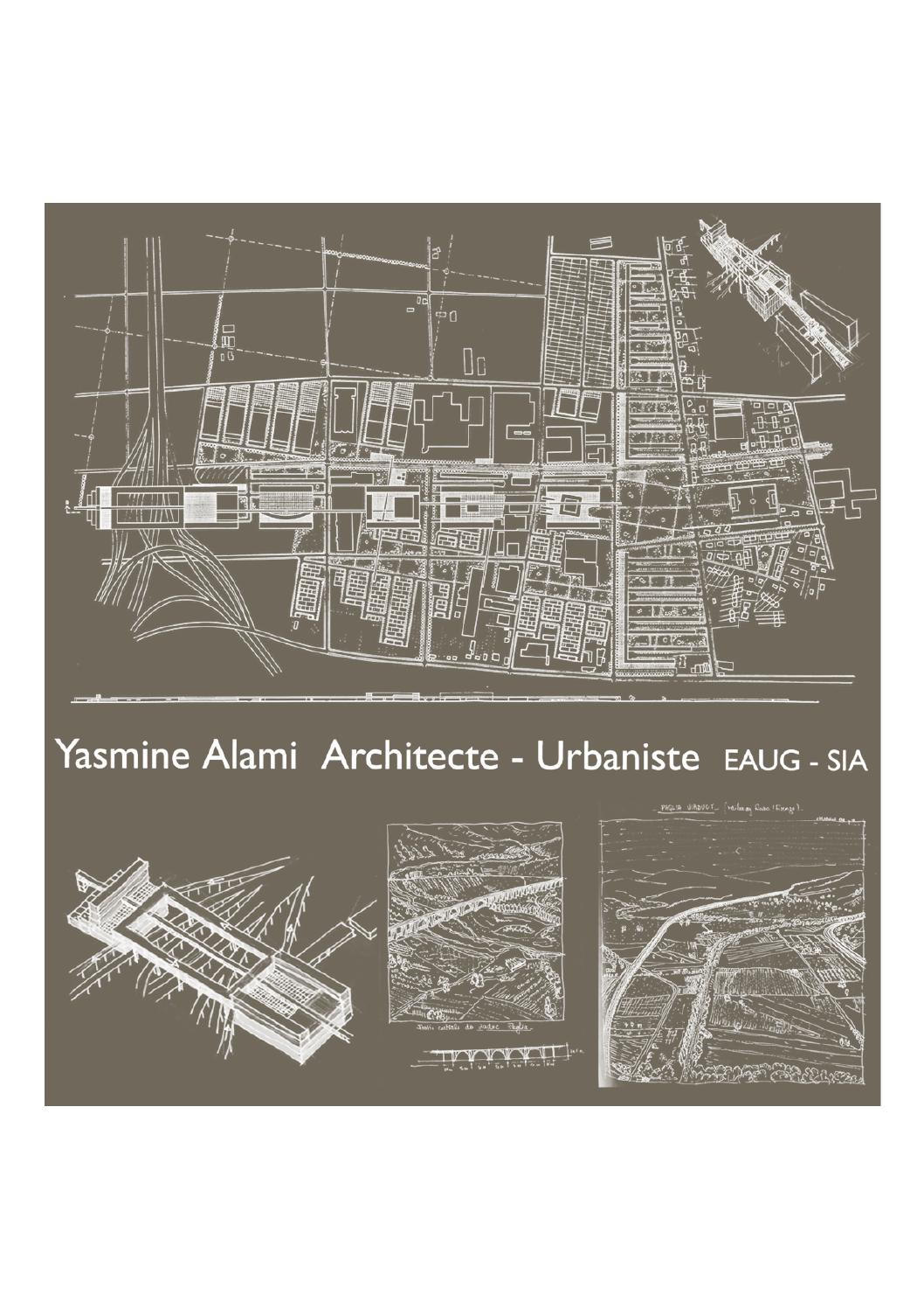 cv yasmine alami architecte by archinomad
