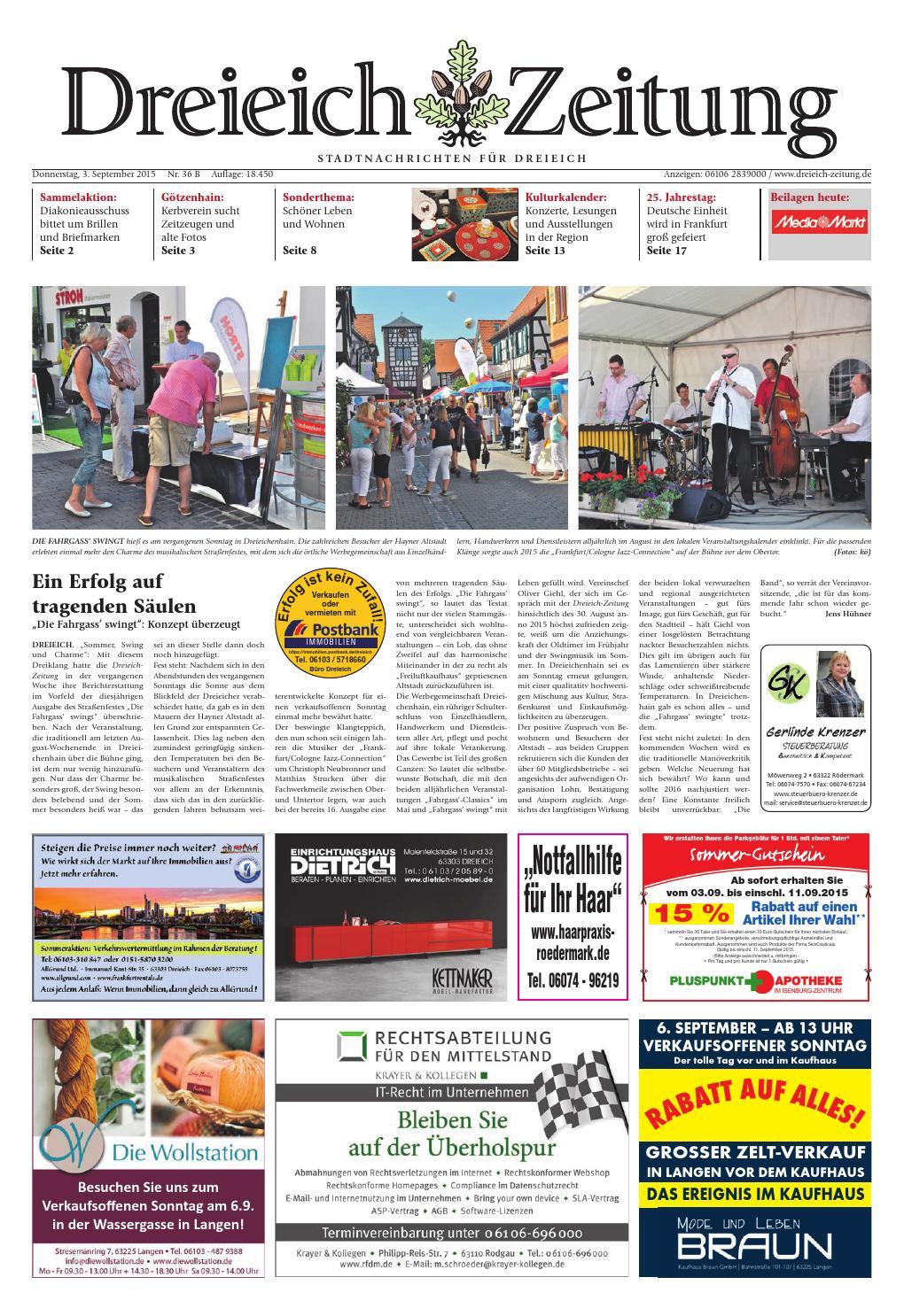 premium selection 3b8a8 0a6f8 Dz online 036 15 b by Dreieich-Zeitung Offenbach-Journal - issuu