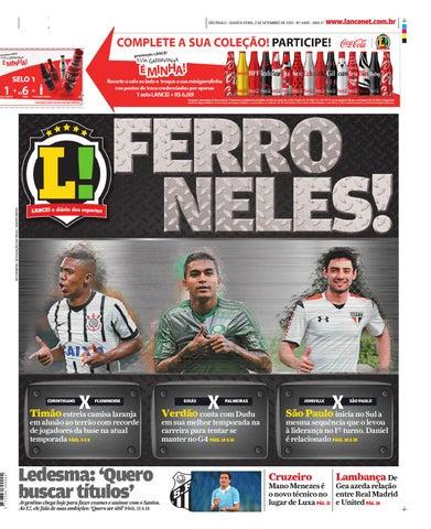 Jornal Lance - 02.09.2015 by henriqique - issuu f320f862dd430